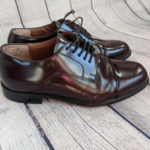 Bostonian Classics Leather Burgundy Dress Shoes
